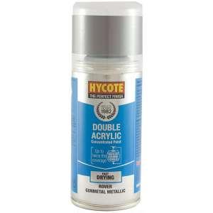 Hycote Rover Gunmetal Metallic Double Acrylic Spray Paint 150Ml Xdrv402-0