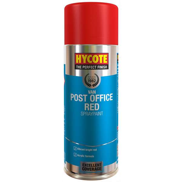 Hycote Post Office Van Red Spray Paint 400Ml Xuk481-0