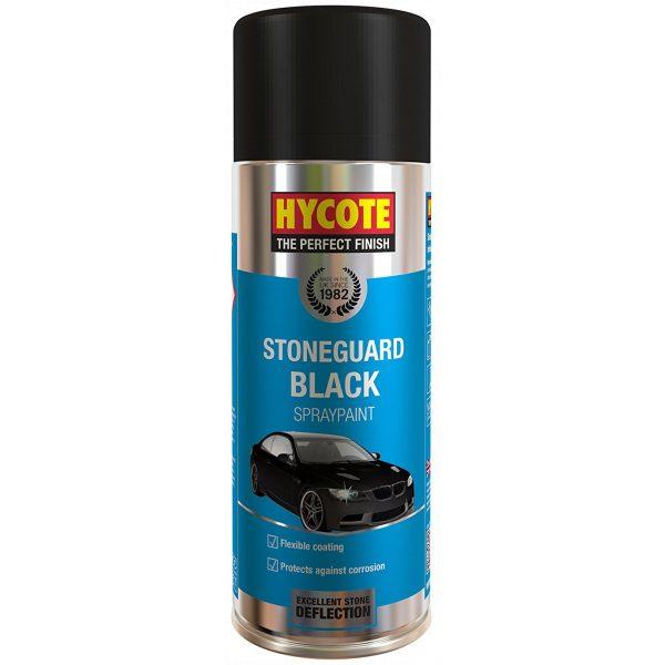 Hycote Stoneguard Black Spray Paint 400Ml Xuk474-0