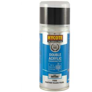 Hycote Ford Panther Black Double Acrylic Spray Paint 150Ml Xdfd414-0