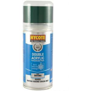 Hycote Rover British Racing Green Metallic Double Acrylic Spray Paint 150Ml Xdrv302-0