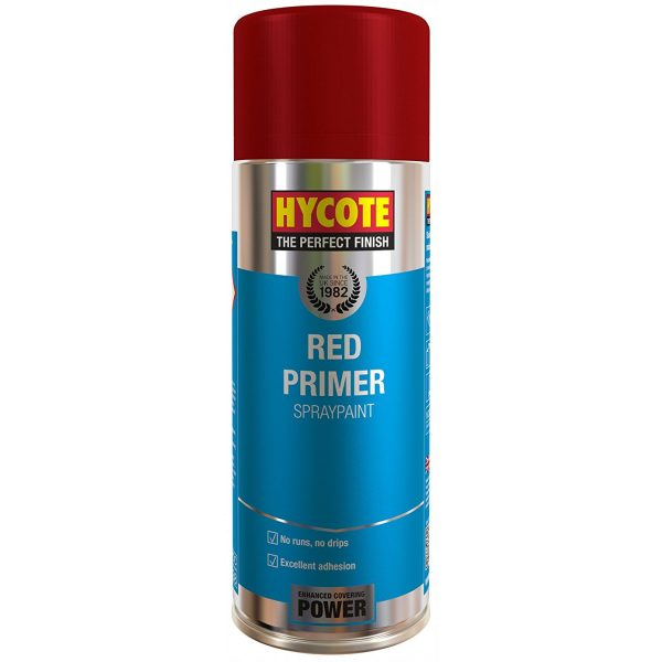 Hycote Red Primer Spray Paint 400Ml Xuk0303-0