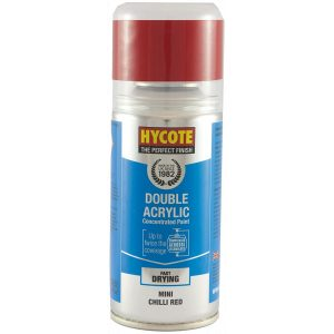 Hycote Bmw Mini Chilli Red Double Acrylic Spray Paint 150Ml Xdbm604-0