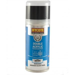 Hycote Mercedes Obsidian Black Double Acrylic Spray Paint 150Ml Xdmc604-0