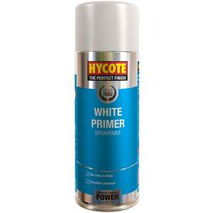 Hycote White Primer Spray Paint 400Ml Xuk0302-0