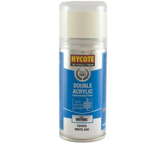 Hycote Toyota White 040 Double Acrylic Spray Paint 150Ml Xdty602-0