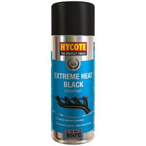 Hycote Vht Black Very High Temperature Spray Paint 400Ml Xuk1001-0