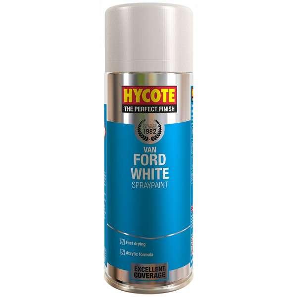 Hycote Ford Van White Spray Paint 400Ml Xuk479-0
