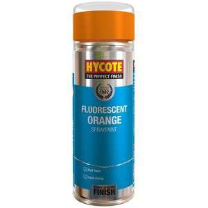 Hycote Fluorescent Orange Safety Spray Paint 400Ml Xuk470-0
