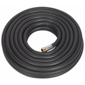 "Sealey AH20R/12 Air Hose 20mtr x Ø13mm with 1/2""BSP Unions Extra Heavy-Duty-0"