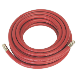 """Sealey AHC1038 Air Hose 10mtr x Ø10mm with 1/4""""BSP Unions-0"""