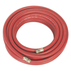 """Sealey AHC15 Air Hose 15mtr x Ø8mm with 1/4""""BSP Unions-0"""