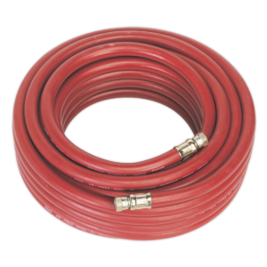 """Sealey AHC1538 Air Hose 15mtr x Ø10mm with 1/4""""BSP Unions-0"""