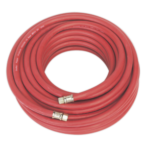 """Sealey AHC20 Air Hose 20mtr x Ø8mm with 1/4""""BSP Unions-0"""