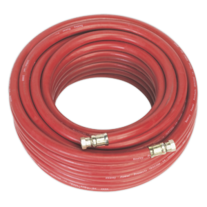 """Sealey AHC2038 Air Hose 20mtr x Ø10mm with 1/4""""BSP Unions-0"""