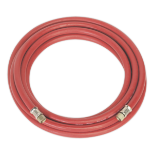 """Sealey AHC5 Air Hose 5mtr x Ø8mm with 1/4""""BSP Unions-0"""