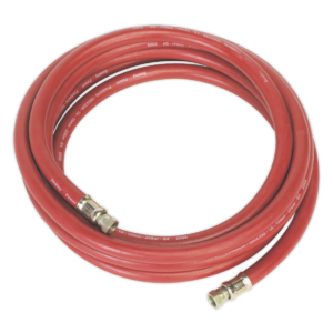 """Sealey AHC538 Air Hose 5mtr x Ø10mm with 1/4""""BSP Unions-0"""