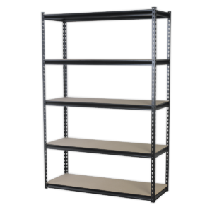 Sealey AP1200R Racking Unit with 5 Shelves 220kg Capacity Per Level-0