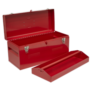 Sealey AP533 Toolbox with Tote Tray 510mm-0