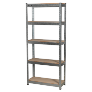 Sealey AP6150GS Racking Unit 5 Shelf 150kg Capacity Per Level-0