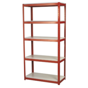 Sealey AP6500 Racking Unit with 5 Shelves 500kg Capacity Per Level-0
