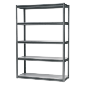 Sealey AP6548 Racking Unit with 5 Shelves 600kg Capacity Per Level-0