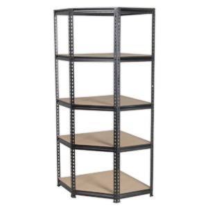 Sealey AP7150C Corner Racking Unit 5 Level 150kg Capacity Per Level-0