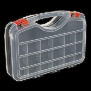 Sealey APAS42 Parts Storage Case 42 Compartment Double-Sided-0
