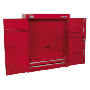 Sealey APW750 Wall Mounting Tool Cabinet with 2 Drawers-0
