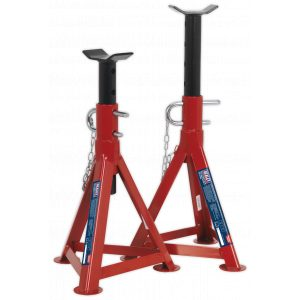 Sealey AS2500 Axle Stands (Pair) 2.5tonne Capacity per Stand-0