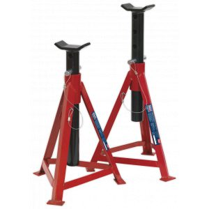 Sealey AS3000 Axle Stands (Pair) 2.5tonne Capacity per Stand Medium Height-0