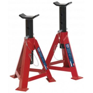 Sealey AS5000 Axle Stands (Pair) 5tonne Capacity per Stand-0