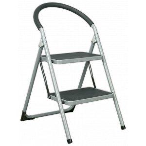 Sealey ASL2 Step Stool 2-Tread 150kg Capacity EN14183-0