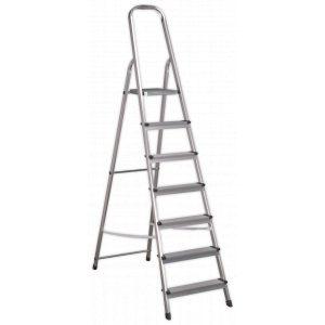 Sealey ASL7 Aluminium Step Ladder 7-Tread EN 131-0