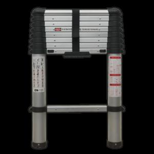 Sealey ATL09 Aluminium Telescopic Ladder 9-Tread EN 131-0