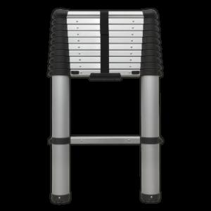 Sealey ATL11 Aluminium Telescopic Ladder 11-Tread EN 131-0