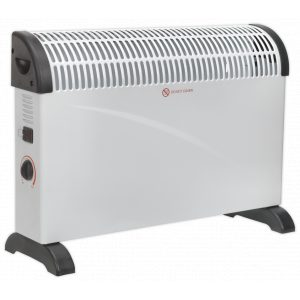 Sealey CD2005 Convector Heater 2000W/230V 3 Heat Settings Thermostat-0
