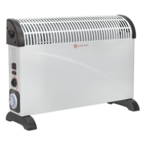 Sealey CD2005TT Convector Heater 2000W/230V with Turbo, Timer & Thermostat-0