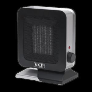 Sealey CH2013 Ceramic Fan Heater 1400W/230V 2 Heat Settings-0