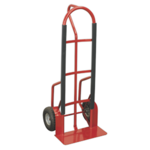 Sealey CST998 Sack Truck with Pneumatic Tyres 300kg Capacity-0