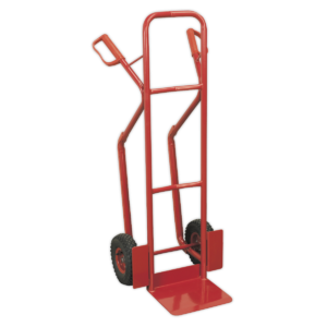 Sealey CST999 Sack Truck with Pneumatic Tyres 300kg Capacity-0