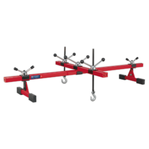 Sealey ES601 Engine Support Beam with Cross Beam 500kg Capacity-0