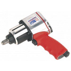 "Sealey GSA02 Air Impact Wrench 1/2""Sq Drive Twin Hammer-0"