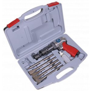 Sealey GSA11 Air Hammer Kit Long Stroke-0