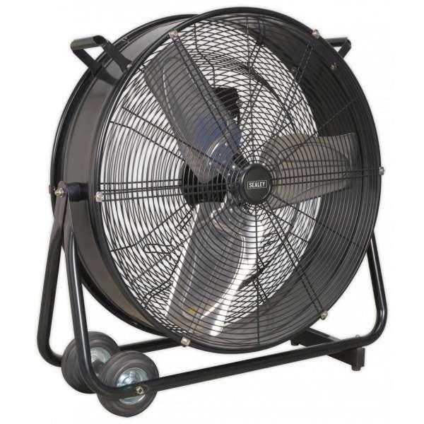 "Sealey HVD24 Industrial High Velocity Drum Fan 24"" 230V-0"
