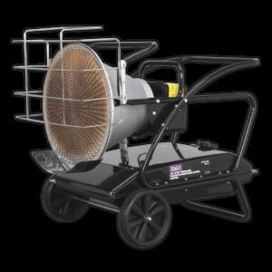 Sealey IR37 Infrared Paraffin/Kerosene/Diesel Heater 28/37kW 230V-0