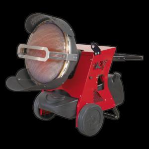 Sealey IR55 Infrared Paraffin/Kerosene/Diesel Heater 45.5kW 230V-0