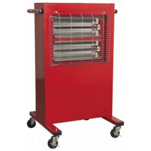 Sealey IRC153 Infrared Cabinet Heater 1.5/3kW 230V-0
