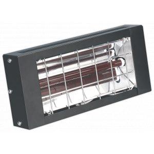 Sealey IWMH1500 Infrared Quartz Heater - Wall Mounting 1500W/230V-0