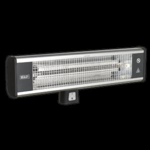 Sealey IWMH1809R High Efficiency Carbon Fibre Infrared Wall Heater 1800W/230V-0